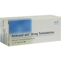 Ambroxol acis 30mg Trinktabletten, 40 ST, Acis Arzneimittel GmbH