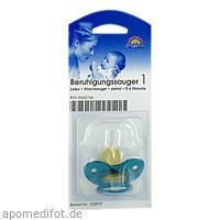 Sauger Kirsche Kl./Sch.gr. Petrol 102917, 1 ST, Büttner-Frank GmbH