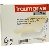 Traumasive plus steriler Hydrokolloidverb. 10x10cm, 5 ST, HEXAL AG