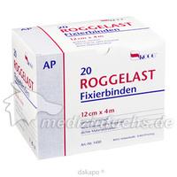 ROGGELAST FIXIERBINDE OHNE CELLO 12CM, 20 ST, Rogg Verbandstoffe GmbH & Co. KG