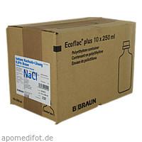 Isotonische Kochsalz-Lösung 0.9% Braun, 10X250 ML, B. Braun Melsungen AG