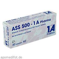 ASS 500-1A Pharma, 30 ST, 1 A Pharma GmbH