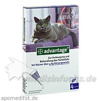 ADVANTAGE 80 Lösung f.Katzen, 4 ST, Bayer Tiergesundheit