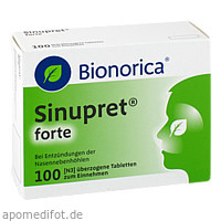 Sinupret forte Dragees, 100 ST, Bionorica Se
