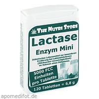 Lactase 5000 FCC Mini Tabletten im Dosierspender, 120 ST, Hirundo Products