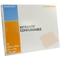 IntraSite Conformable 10x10cm, 10 ST, Smith & Nephew GmbH