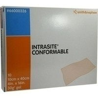 IntraSite Conformable 10x40cm, 10 ST, Smith & Nephew GmbH