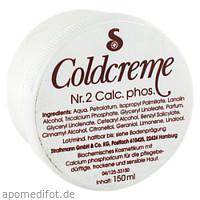 COLDCREME NR 2 Calc. phos, 150 ML, Strathmann GmbH & Co. KG