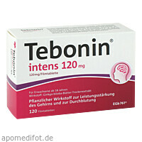 Tebonin intens 120mg, 120 ST, Dr.Willmar Schwabe GmbH & Co. KG