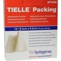 TIELLE Packing hydro Verband steril 9.5cmx9.5cm, 10 ST, Kci Medizinprodukte GmbH