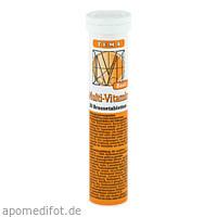 Multivitamin Brausetabletten, 20 ST, Amosvital GmbH