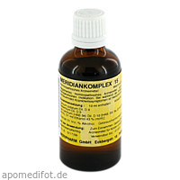 MERIDIANKOMPLEX 15, 50 ML, Meripharm GmbH Arzneimittelvertrieb
