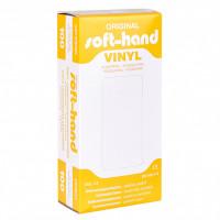 Softhand Vinyl-Handschuhe Gr. S, 100 ST, Diaprax GmbH