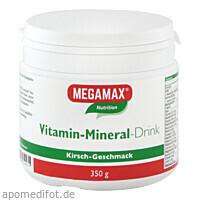 MEGAMAX Vita-Min-Drink Kir, 350 G, Megamax B.V.