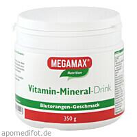 MEGAMAX Vita-Min-Drink Ora, 350 G, Megamax B.V.