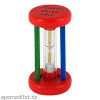 ZAHNPUTZUHR Holz-bunt, 1 ST, Megadent Deflogrip Gerhard Reeg GmbH
