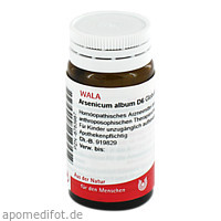 ARSENICUM ALB D 6, 20 G, Wala Heilmittel GmbH