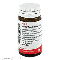 BETULA/MANDRAGORA COMP, 20 G, Wala Heilmittel GmbH