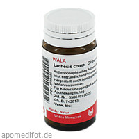 LACHESIS COMP, 20 G, Wala Heilmittel GmbH