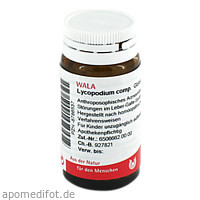 LYCOPODIUM COMP, 20 G, Wala Heilmittel GmbH