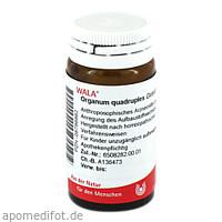 ORGANUM QUADRUPLEX, 20 G, Wala Heilmittel GmbH