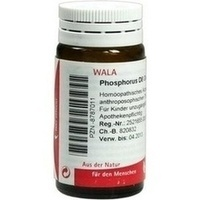 PHOSPHORUS D 8, 20 G, Wala Heilmittel GmbH