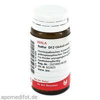 SULFUR D12, 20 G, Wala Heilmittel GmbH