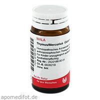 THYMUS/MERCURIUS, 20 G, Wala Heilmittel GmbH