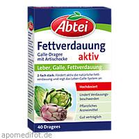 Abtei Galle-Dragees mit Artischocke, 40 ST, Omega Pharma Deutschland GmbH