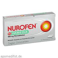 Nurofen Immedia 400 mg Filmtabletten, 12 ST, Reckitt Benckiser Deutschland GmbH