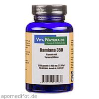 Damiana 350mg Kapseln, 120 ST, Vita Natura GmbH & Co. KG