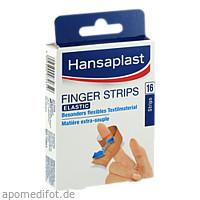 HANSAPLAST FINGERSTRIPS, 16 ST, Beiersdorf AG