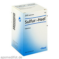Sulfur comp Heel, 250 ST, Biologische Heilmittel Heel GmbH