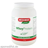 WheyProtein Lactosefrei Vanille, 1200 G, Megamax B.V.