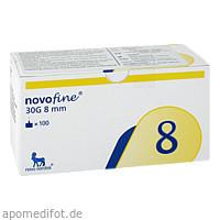 Novofine Import 0.30x8mm 30G, 100 ST, Actipart GmbH