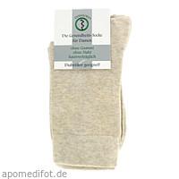 Diabetikersocken 35/38 crem Da ohne Gummi VENASOFT, 4 ST, Groß- U. Einzelhandel Strumpfvertrieb Himmel E.K.