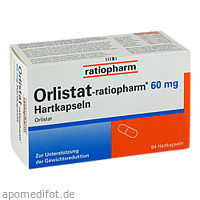 Orlistat-ratiopharm 60 mg Hartkapseln, 84 ST, ratiopharm GmbH