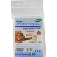 Hoega-Fingerkuppen Pflaster 4x7cm, 10 ST, Höga-Pharm G.Höcherl