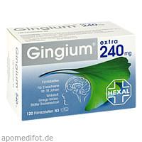 GINGIUM extra 240 mg Filmtabletten, 120 ST, Hexal AG