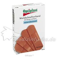 Optiplast Strips wasserfest, 1X20 ST, Wvp Pharma und Cosmetic Vertriebs GmbH