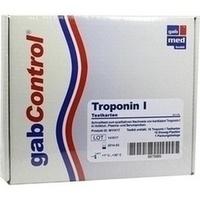 Troponin Schnelltestkarte Vollblut Serum Plasma, 10 ST, Abbott Rapid Diagnostics Germany GmbH