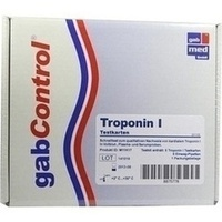 Troponin Schnelltestkarte Vollblut Serum Plasma, 5 ST, Abbott Rapid Diagnostics Germany GmbH