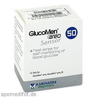 GlucoMen areo Sensor, 50 ST, Eurimpharm Arzneimittel GmbH