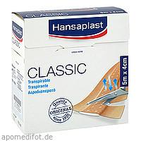 HANSAPLAST Classic Pflaster 5mx4cm, 1 ST, 1001 Artikel Medical GmbH