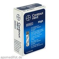 Contour NEXT Kontrolllösung hoch, 1 ST, Ascensia Diabetes Care Deutschland GmbH