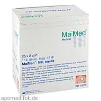 Mullkompressen 10x10 8-fach steril, 25X2 ST, Maimed GmbH -Bereich Vertrieb-