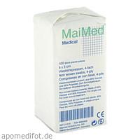Vlieskompressen 5x5 unsteril, 100 ST, Maimed GmbH -Bereich Vertrieb-