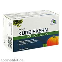 Kürbiskern Komplex Kapseln, 140 ST, Avitale GmbH