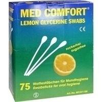 Lemon Swabs Mundpflegestäbchen, 25X3 ST, Dr. Junghans Medical GmbH