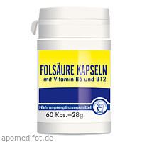 Folsaeure, 60 ST, Pharma Peter GmbH